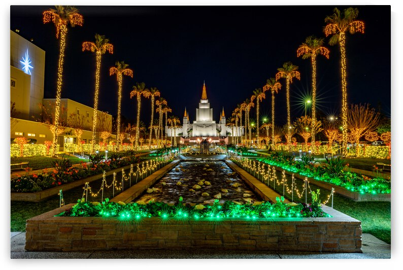Temple Lights  by Darryl Kelly