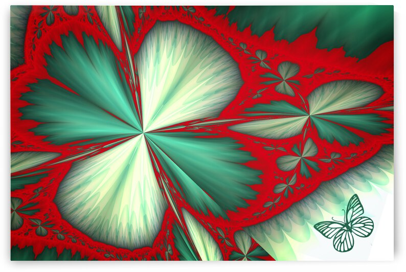 Shamrock and Butterfly by COOL ART BY RICHARD