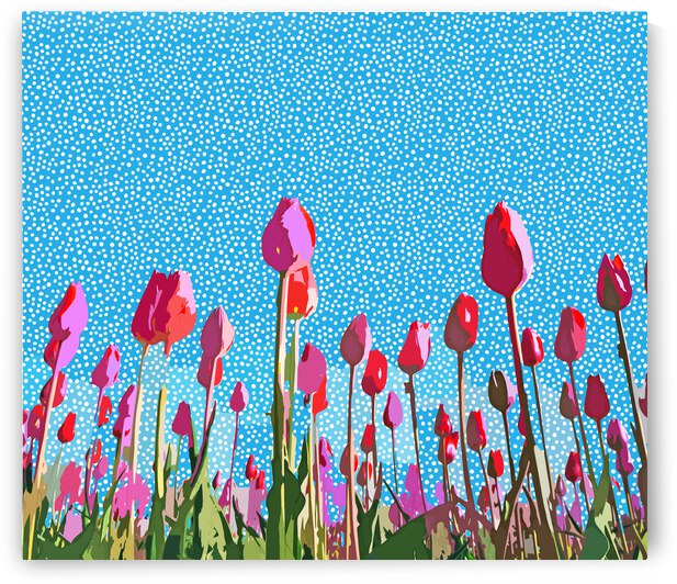 Tiptoe Through The Tulips With Me by 83 Oranges