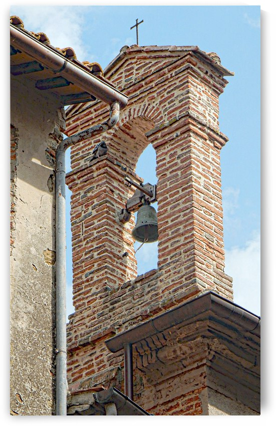 Chiesa di San Carlo Bell Tower Paciano by Dorothy Berry-Lound
