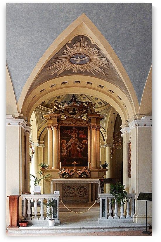 Chiesa di San Giuseppe Interior Paciano by Dorothy Berry-Lound