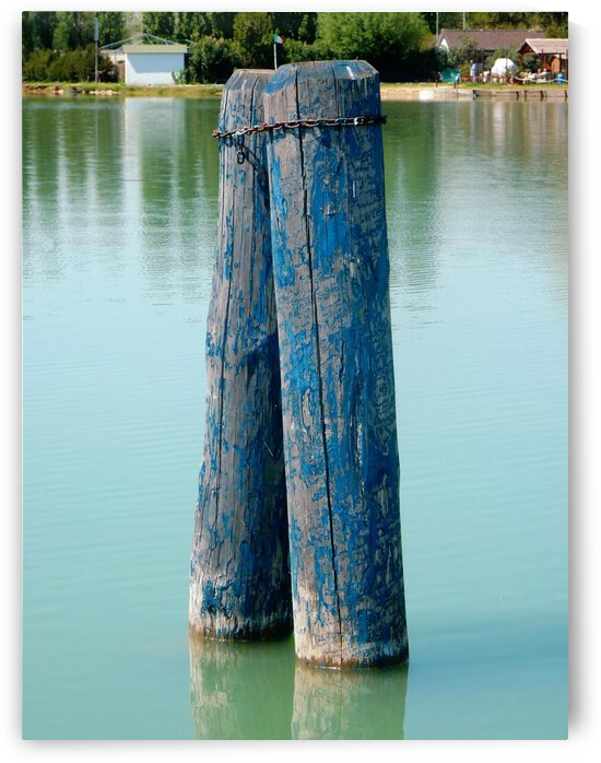 Blue Boat Piles by Dorothy Berry-Lound