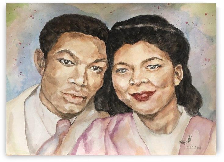 Mr. and Mrs. Howard by JIHYE DESJADON
