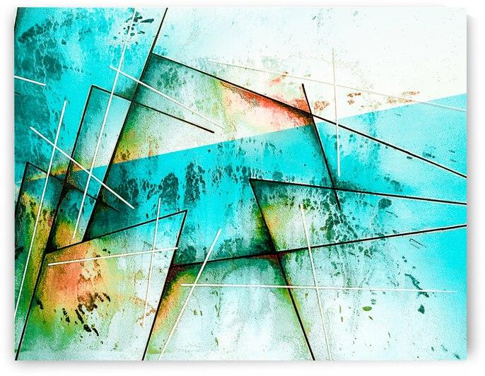 ABSTRACT ART BRITTO QB300B by SIDINEI BRITO