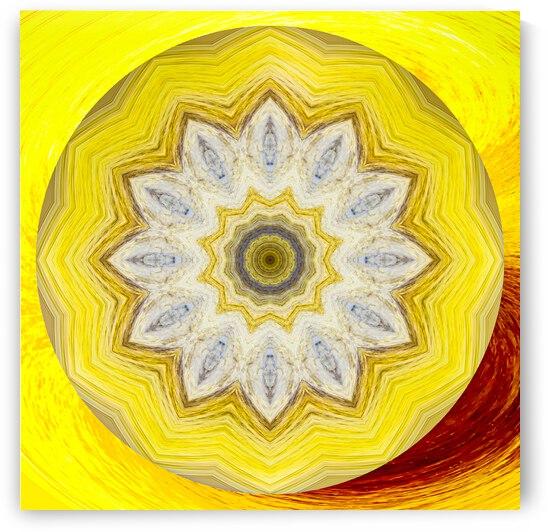 Kaleidoscope 1 by Leslie K Joseph