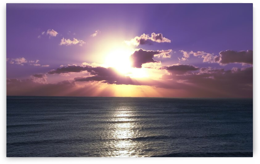 Tranquility - Relaxing Sunset over the Pacific by 1North
