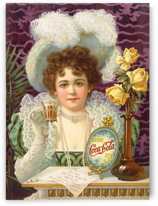 Coca Cola 1900 by VINTAGE POSTER