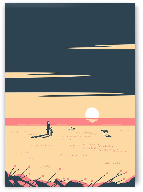 The Sundown Pink by Rene Hamann