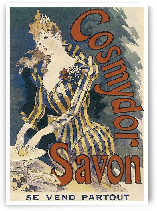 Cosmydor Savon by Cheret by VINTAGE POSTER