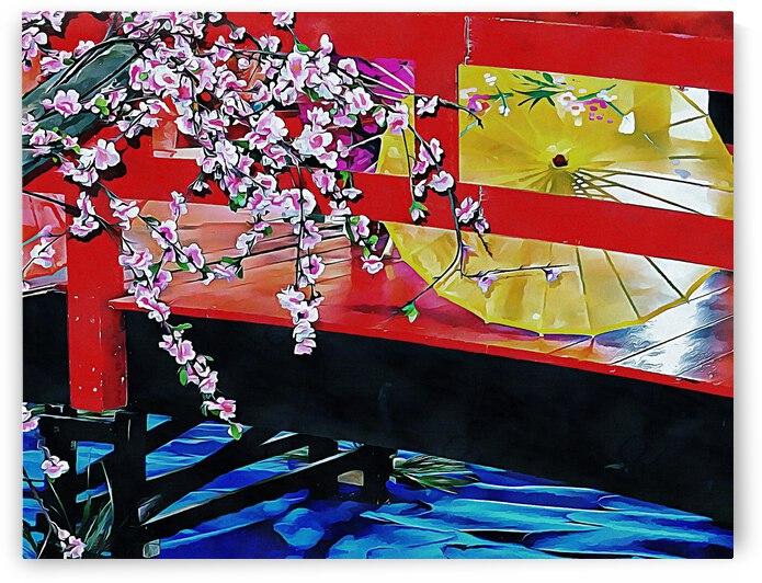 Cherry Blossom Bridge by Dorothy Berry-Lound