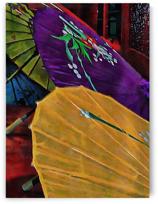 Japanese Parasol Harmony by Dorothy Berry-Lound