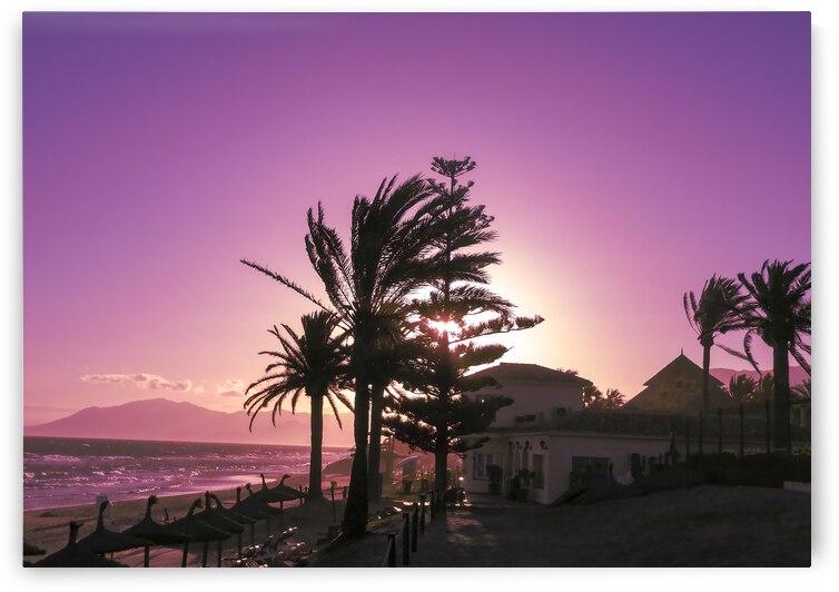 Sunset Costa Del Sol Spain by 360 Studios