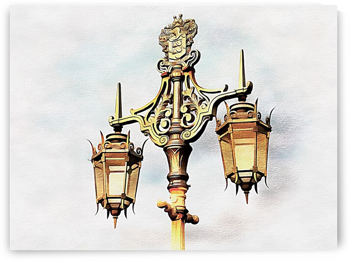 Victorian Street Light by Dorothy Berry-Lound