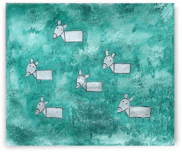 Donkeys by Pallavi Sharma