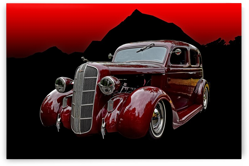 1936 Dodge 4-Door Sedan by COOL ART BY RICHARD