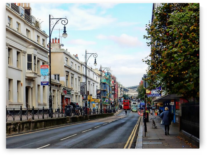 Queens Road Brighton by Dorothy Berry-Lound