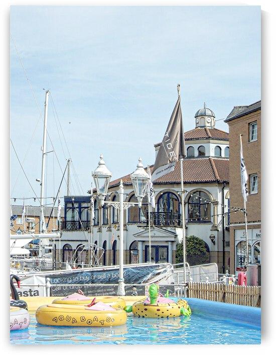 Summer at Brighton Marina by Dorothy Berry-Lound