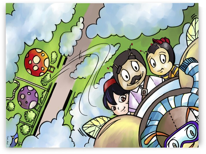 Let Your Dreams Take Flight - A Dream of Tomorrow  - Bugville Critters by Robert Stanek
