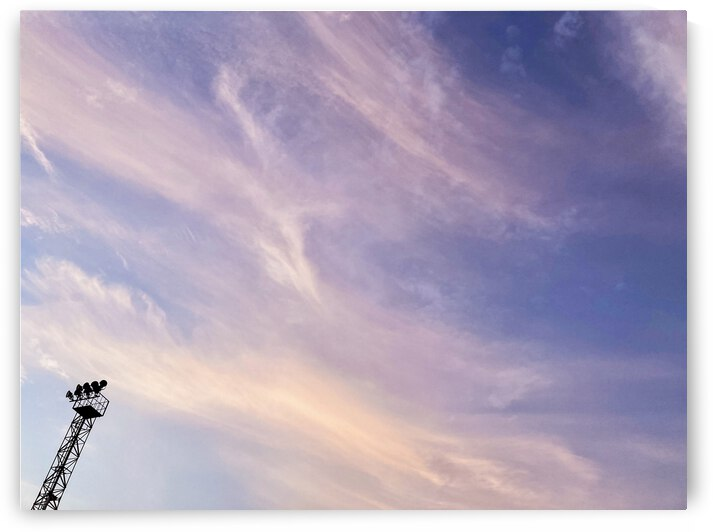 African sky on the morning by L Enchanteur