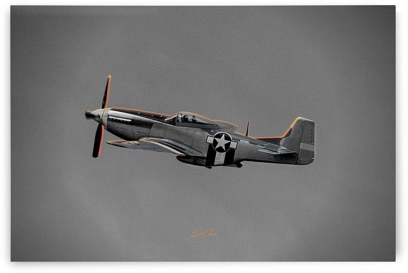 P-51 Orange Super Limited Edition 10 Prints only by BeauCheri