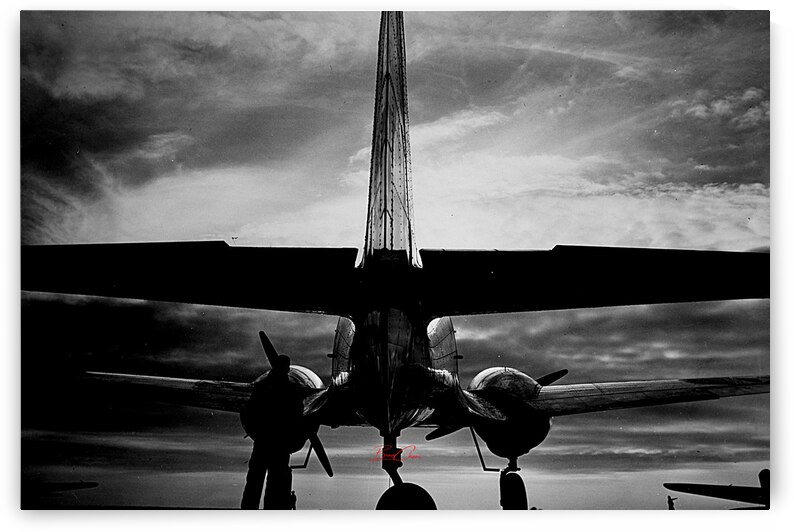 Bomber Rear Limited Edition 50 Prints only by BeauCheri