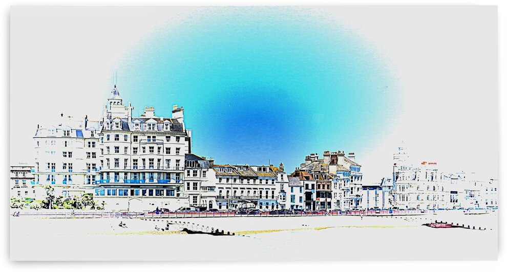 Seafront at Eastbourne by Dorothy Berry-Lound