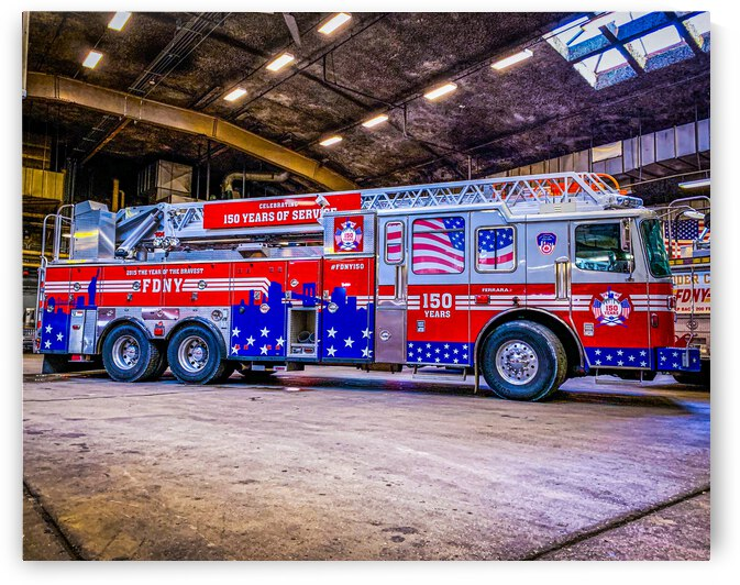 150th Anniversary Fire Truck Shops by Patricia Gontz
