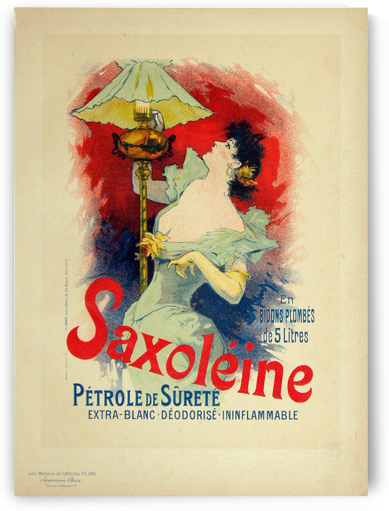 Saxoleine Poster by VINTAGE POSTER
