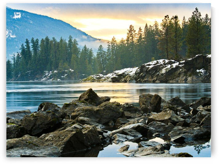 Kootenay River by Tineke Reese