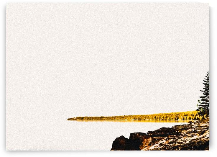 Minimalist Landscape  by J Gilbert Photography