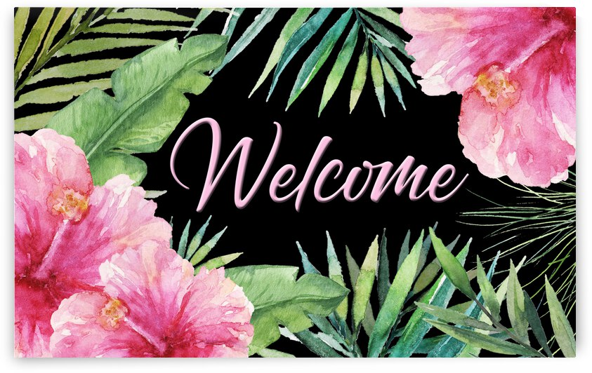 Tropical Welcome by HH Photography of Florida