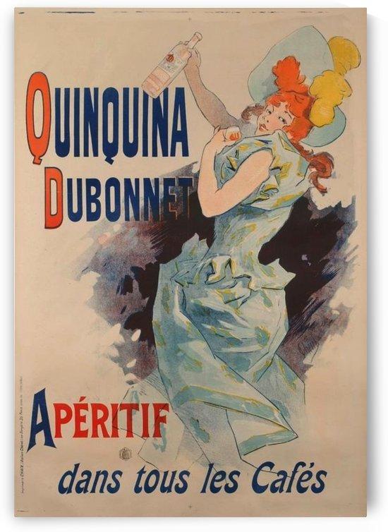 Quinquina Dubonnet - Aperitif dans tous les Cafes by VINTAGE POSTER