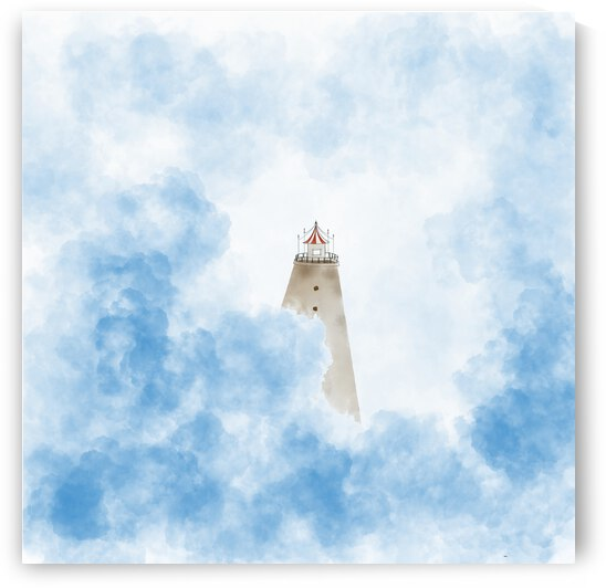 Stand tall amidst the clouds by Kees Artscape