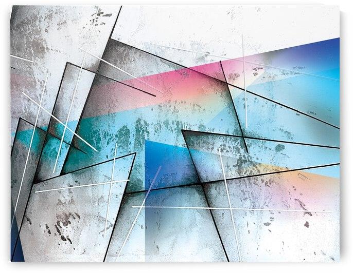 ABSTRACT ART BRITTO QB301B by SIDINEI BRITO