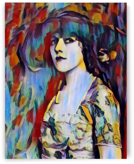 Film Actress Mary Pickford  Art Painting   by Invitation Of Creation