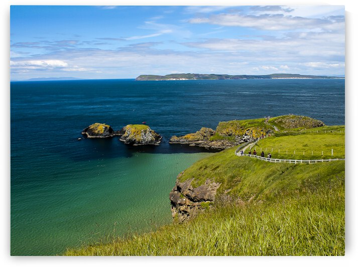 Northern Ireland Coast View by Andre Luis Leme