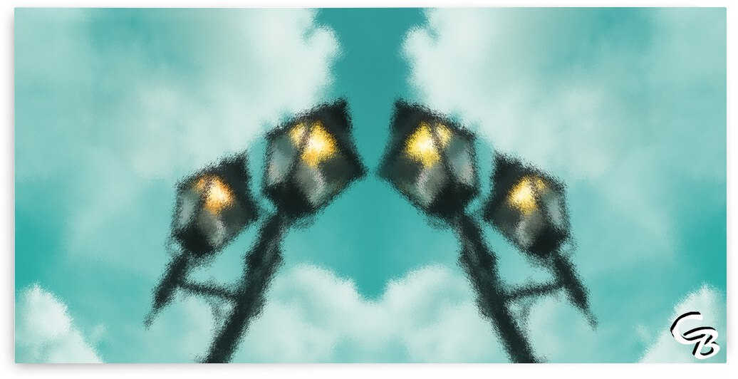 0615 Lampes en lair by Colette Bordeleau