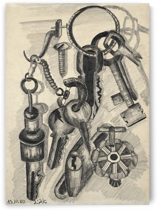 RA 016 - מחזיק מפתחות by Avi Romano Art