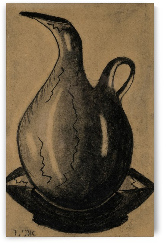 RA 030 -  כד מים by Avi Romano Art