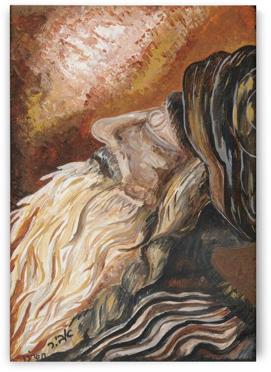 RA 027 - תפילה - Prayer by Avi Romano Art