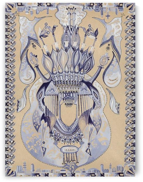 RA 042 - כלה תימניה - Yemeni bride by Avi Romano Art