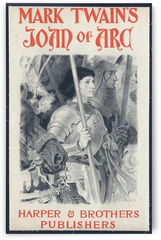 Joan of Arc by VINTAGE POSTER