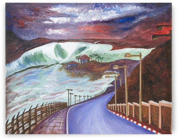 RA 037 - הדרך לבית - The way home by Avi Romano Art