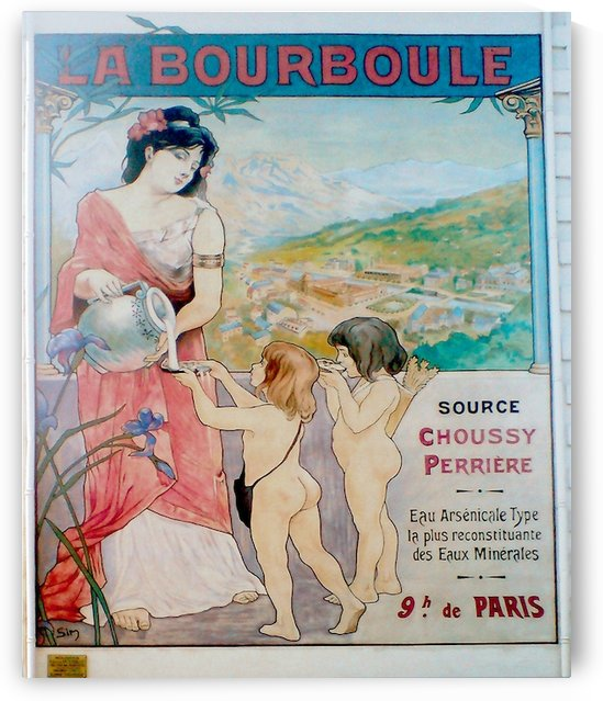 La Bourboule by VINTAGE POSTER