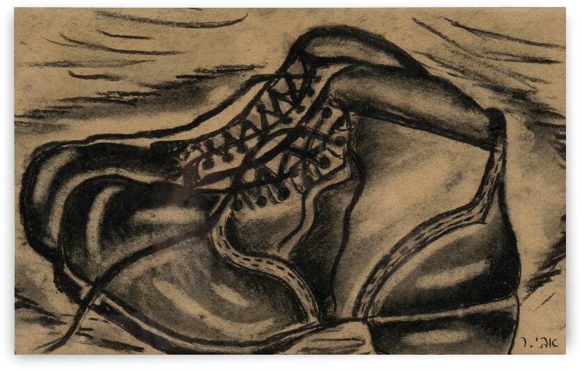 RA 033 0 - נעלי עבודה - Work shoes by Avi Romano Art