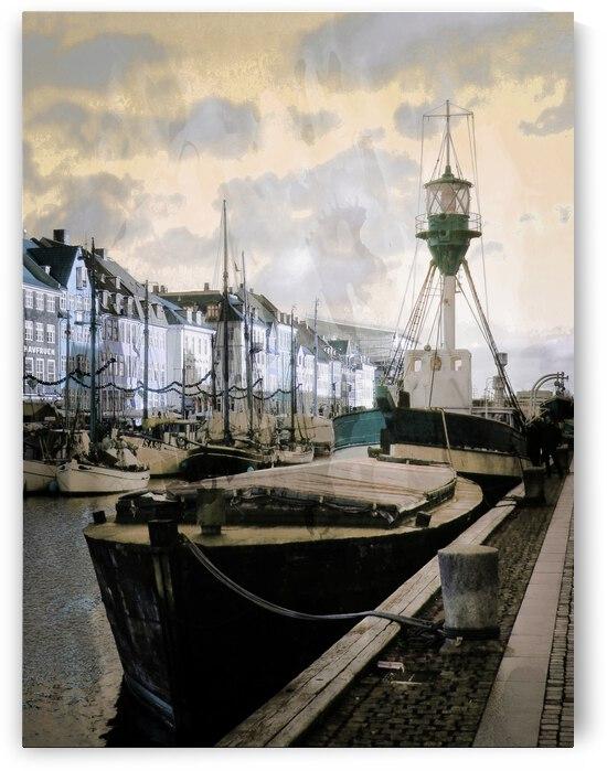 Lightvessel Nyhavn Copenhagen by Dorothy Berry-Lound