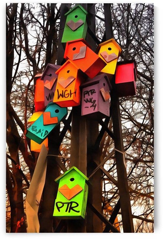 Nesting Boxes Copenhagen by Dorothy Berry-Lound