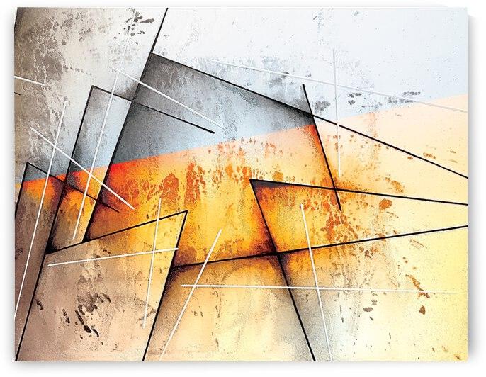 ABSTRACT ART BRITTO QB302B by SIDINEI BRITO