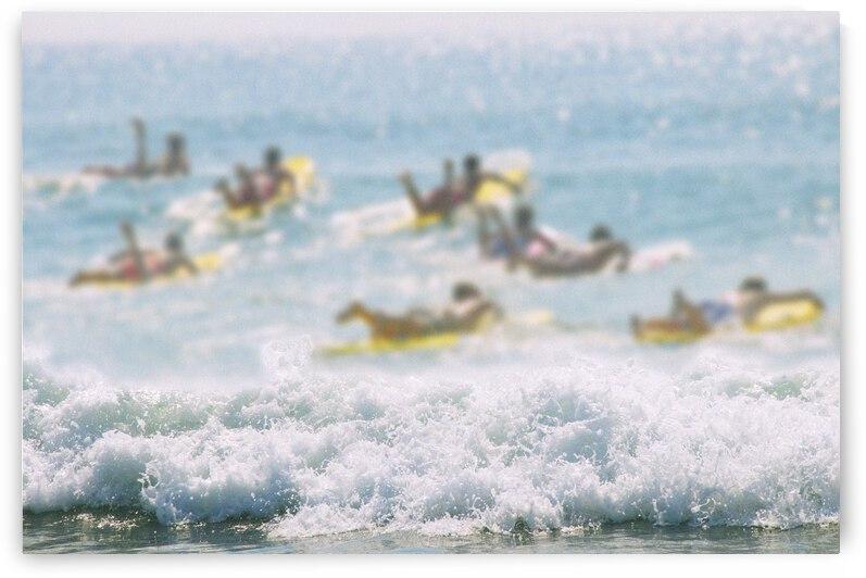 Shore Break 1 by Anne Knife Photography