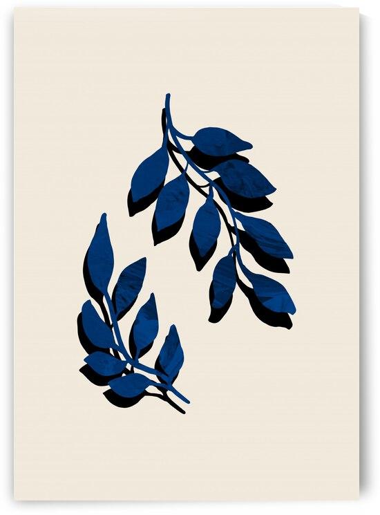 Blue Twig Brush by 1x